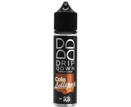 Drip Down E-Liquid - Cola Lollipop - 50ml Shortill - ZERO Nicotine