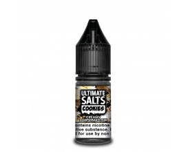 Ultimate Salts Cookies | Creamy Marshmallow | 10ml Single | 10mg / 20mg Nicotine Salt