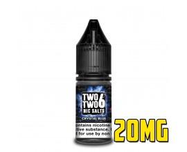 226 Nic Salts - NS20 - CRYSTAL BLUE - 10ml Single - 20mg