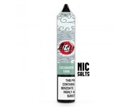 Aisu Nicotine Salts E-Liquids | Cucumber | 10ml Single | 10mg / 20mg Nicotine Salt