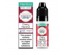 Dinner Lady 50/50 Range | Menthol | Cherry Menthol | 10ml Single | Various Nicotine Strengths