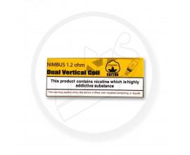 Diamond Mist | Dual Vertical Nimbus Coils | 1.2 Ohms | Pack of 5