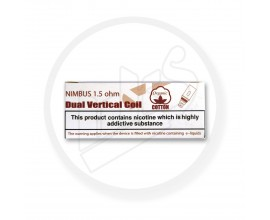 Diamond Mist | Dual Vertical Nimbus Coils | 1.5 Ohms | Pack of 5