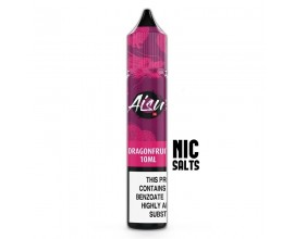 Aisu Nicotine Salts E-Liquids | Dragonfruit | 10ml Single | 10mg / 20mg Nicotine Salt