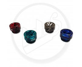 810 Resin Drip Tips - Translucent Honeycomb - Short Size (Single)
