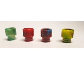 510 Resin Drip Tips - Marble Effect - Short