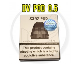 Innokin | Replacement DV Pods | 0.5 Ohm Plex 3D Coil | 1 x Single