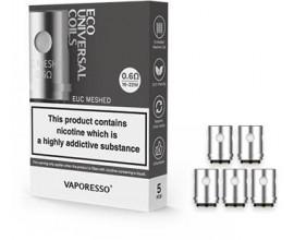 Vaporesso - EUC Eco Universal Coils - Pack of 5 - 0.6 Ohm Mesh