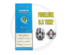 Freemax - TX Mesh Coils for Fireluke / Twister - 0.5 Ohm TNX2 - Pack of 5