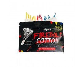 Vapefly | Firebolt Cotton | Pre-Loaded Cotton Strips | Mixed Edition | Pack of 21 | **INTRO OFFER: BUY 20 PACKS GET 2 FREE - FIRST 25 CUSTOMERS ONLY**