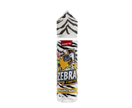Zebra Juice - Fruitz - PINEAPPLE MANGO - 50ml Shortfill - ZERO Nicotine