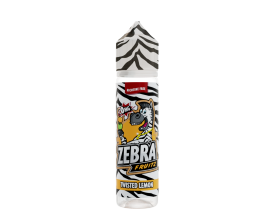 Zebra Juice - Fruitz - TWISTED LEMON - 50ml Shortfill - ZERO Nicotine