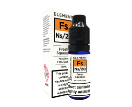Element E-Liquids Designer Nicotine Salts | Fresh Squeeze | 10ml Single | 10mg / 20mg Nicotine Salt