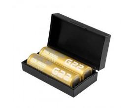 Golisi | G22 Batteries | 2200mAh | 20A | 18650 | Pack of 2