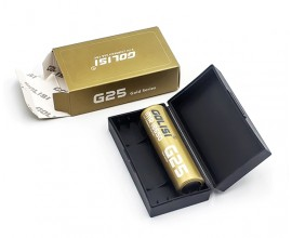 Golisi G25 - 2500mAh 20A 18650 Battery (Pair)