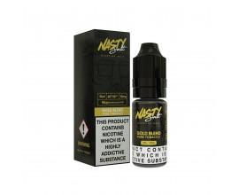 Nasty Salts - GOLD BLEND - 10mg Nicotine Salts - 10ml TPD