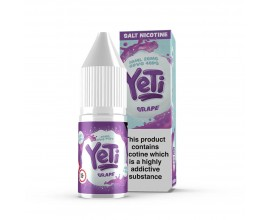 Yeti Nicotine Salts | Grape | 10ml Single | 20mg Nicotine Salts