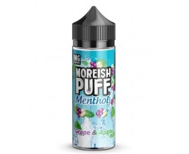 Moreish Puff | Menthol | Grape & Apple | 100ml Shortfill | 0mg