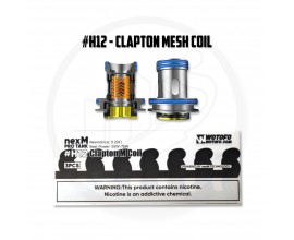 Wotofo | nexMesh Pro Tank Coils | Pack of 3 | #H12 Clapton Mesh Coil
