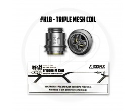 Wotofo | nexMesh Pro Tank Coils | Pack of 3 | #H18 Triple Mesh Coil
