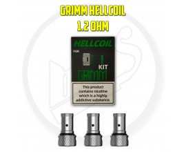 Hellvape - Hellcoil Replacement Coils ( GRIMM Kit ) - Pack of 3 - 1.2 Ohm H3-02