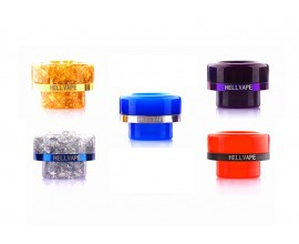 Hellvape - AG+ Hygenic Anti-Bacterial Resin 810 Drip Tips - Passage Style