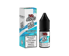 I VG 50/50 E-Liquids - ICE MENTHOL - 10ml Single - Various Nicotine Strengths |