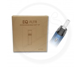 Innokin | EQ FLTR Replacement Biodegradable Soft Tips | Pack of 10