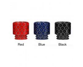 Innokin | Plex Tank Resin Drip Tips | Honeycomb / Cobra Effect | 810 Size