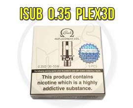 Innokin - iSub Plex 3D Coils - 0.35 Ohm - Pack of 5