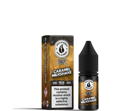 Juice N' Power Salt | CARAMEL MILKSHAKE | 10ml | 11mg / 20mg Nic Salts