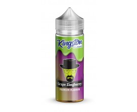 Kingston Mint | Grape Zingberry | 100ml Shortfill | 0mg