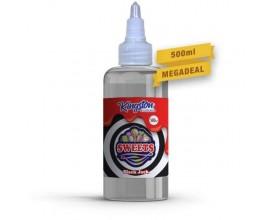 Kingston MegaSaver | Black Jack | 500ml Shortfill | 0mg