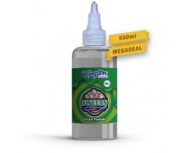 Kingston MegaSaver | Fruit Pastels | 500ml Shortfill | 0mg