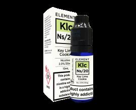 Element E-Liquids Designer Nicotine Salts | Key Lime Cookie | 10ml Single | 10mg / 20mg Nicotine Salt