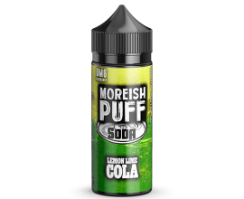 Moreish Puff | Soda | Lemon Lime Cola | 100ml Shortfill | 0mg