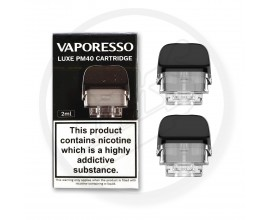 Vaporesso | LUXE PM40 Replacement Empty Pods | 2ml | Pack of 2