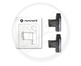 Famovape | Magma AIO Replacement Pods | 2ml | Pack of 2