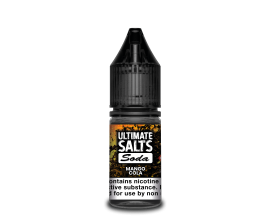 Ultimate Salts Soda | Mango Cola | 10ml Single | 10mg / 20mg Nicotine Salt
