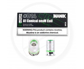 Wotofo | Manik Pod Coils | #D14 - 0.2 Ohm Conical nexMesh Coil | Pack of 5