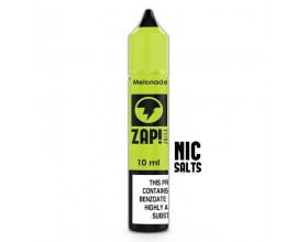 ZAP! Juice Nicotine Salts | Melonade | 10ml Single | 10mg / 20mg Nicotine Salt