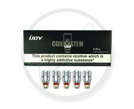 iJOY | Mercury Replacement Coils | Pack of 5 | 1.0 / 1.2 Ohm