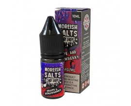 Moreish Puff Salts - Candy Drops - GRAPE & STRAWBERRY - 10ml TPD - 20mg Nicotine Salts
