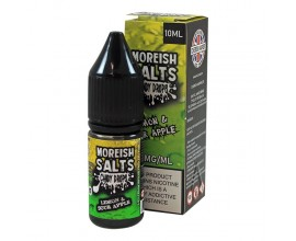 Moreish Puff Salts - Candy Drops - LEMON & SOUR APPLE - 10ml TPD - 20mg Nicotine Salts