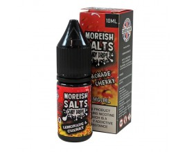 Moreish Puff Salts - Candy Drops - LEMONADE & CHERRY - 10ml TPD - 20mg Nicotine Salts