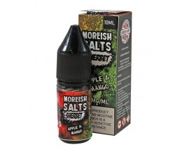 Moreish Puff Salts - Sherbet - APPLE & MANGO - 10ml TPD - 20mg Nicotine Salts
