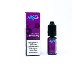 Nasty Salts | A$AP Grape | 10ml Single | 20mg Nicotine Salt