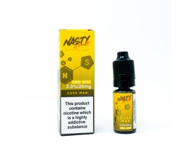 Nasty Salts | Cush Man | 10ml Single | 10mg / 20mg Nicotine Salts