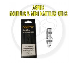 Aspire | Nautilus & Mini Nautilus Coils | 1.8 Ohm NS (Best for Nic Salts) | Pack of 5