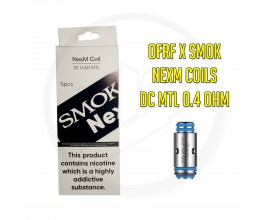 OFRF & SMOK | NexMesh Pod Replacement Coils | 0.4 Ohm DC MTL KA1 | Pack of 5